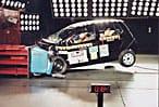Crash test dummy in VW fox