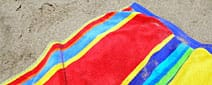 A beach towel