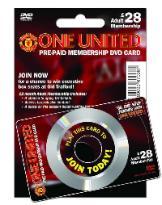 Interactive DVD card