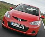 Mazda2 front driving shot