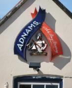 Adnams Brwery sign