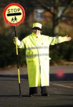 Lollipop woman