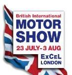 British International Motor Show logo