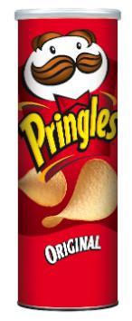 A tube of Pringles