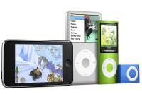 iPod Nano, Touch, Shuffle and Classic