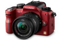 Panasonic Lumix G1 red
