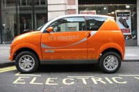 The government wants to promote the use of electric cars