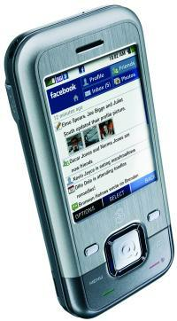 3 mobile INQ1 Facebook phone