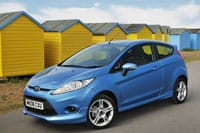 The Ford Fiesta is November's top-selling car