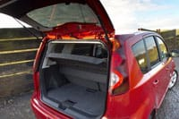 Versatile storage: the new Nissan Note