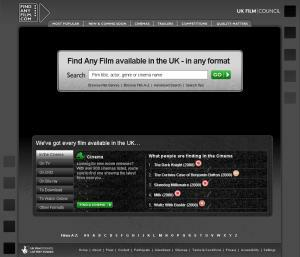 Findanyfilm.com screenshot