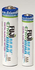 Fuji EnviroMax batteries