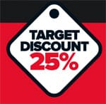 Which? Car Target Discount logo