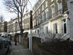 A row of terrace houses