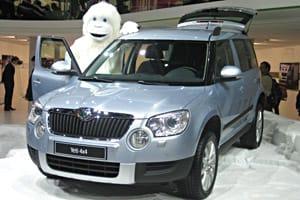 Geneva Motor Show: the new Skoda Yeti