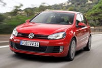 New VW Golf GTI front