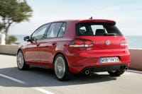 New VW Golf GTI rear