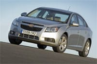 The compact Chevrolet Cruze