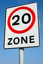 Drivers face more 20mph speed limits