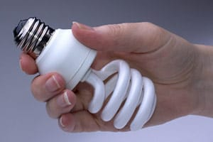 A low energy lightbulb