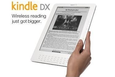 Amazon Kindle DX ebook reader