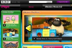 Screen shot of Cbeebies iPlayer