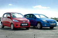 Hyundai i10 ES and i30 ES