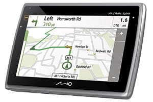 New Navman Spirit sat nav works with Google Local
