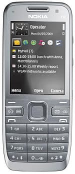 Nokia E52 mobile handset