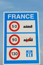 Few British drivers know the speed limits on French motorways