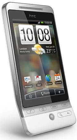 HTC Hero or T-Mobile G1 Touch Android mobile