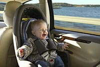 Isofix points let you secure a child car seat without using adult seatbelts