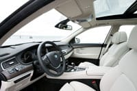 Plenty of space inside the 5 Series GT