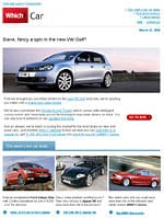 Sign up to the Which? Car newsletter
