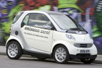 Smart ForTwo ed is electric only