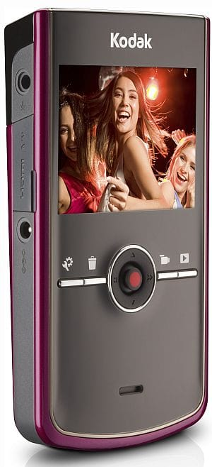 Kodak Zi8 Pocket Video Camera (HD camcorder) raspberry