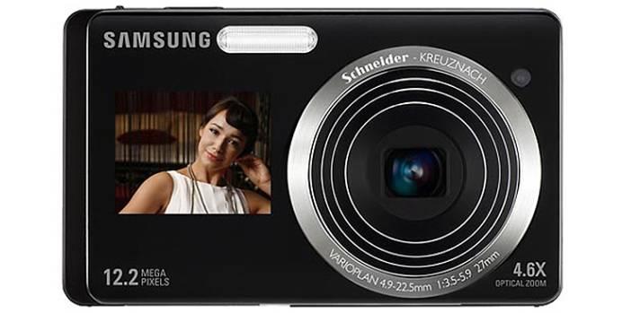 Samsung ST550 dual LCD screen digital camera