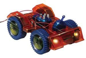 Solar powered toy car