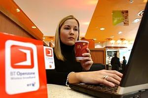 BT Openzone wi-fi hotspots