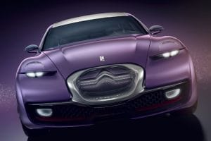 Frankfurt Motor Show: Citroen REVOLTe Concept face on