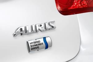 Frankfurt Motor Show: Toyota Auris Hybrid badge