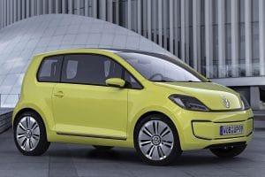 Frankfurt Motor Show: VW E-Up! Concept front