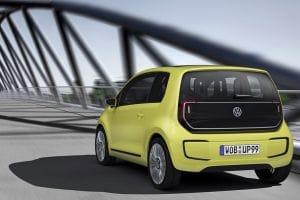 Frankfurt Motor Show: VW E-Up! Concept rear