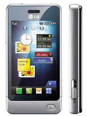 LG GD510 Pop mobile phone silver