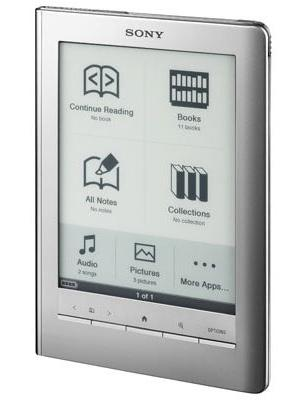 Sony PRS-600 Reader Touch Edition ebook reader - silver