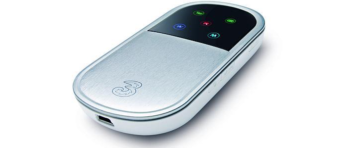 Three MiFi wireless broadband Wi-Fi modem