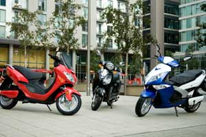 e-motive has launched three new electric scooters