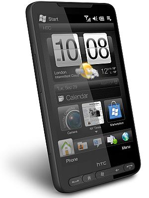 HTC HD2 Windows mobile phone