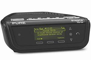 Pure Siesta Flow digital internet radio black