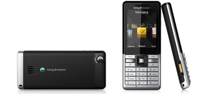 Sony Ericsson Naite Greenheart handset black